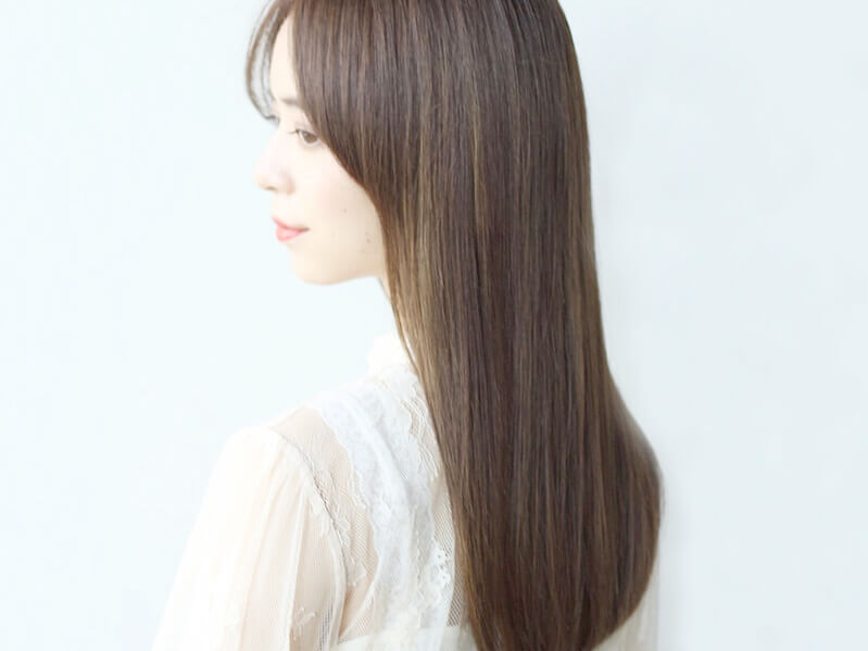 艶やかに整った美髪